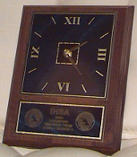 LE37 Wood Plaque Clock