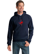 JZ996M Pullover Hooded Sweatshirt