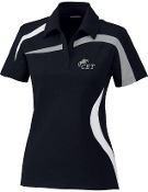 78645 Ladies Performance Polyester Pique Color-Block Polo
