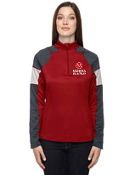 78214 Ladies Performance Interlock Half-Zip Top