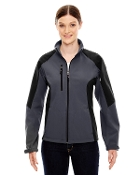 78077 Ladies Color-Block Soft Shell Jacket
