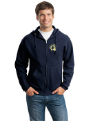 JZ993M Full-Zip Hooded Sweatshirt