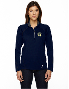 78187 Ladies 1/2-Zip Performance Long Sleeve Top