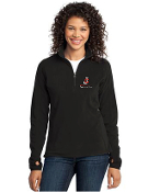 L224/F224 Ladies/Mens 1/2-Zip Microfleece Pullover