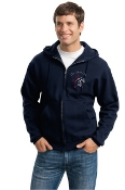 JZ4999m Full-Zip Hooded Sweatshirt