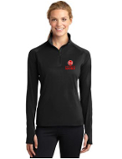 LST850 Ladies 1/2-Zip Yoga Shirt