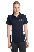 LST685 Ladies Color Block Performance Polo