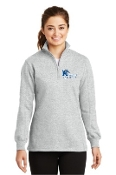 LST253 Ladies 1/4 Zip Sweatshirt