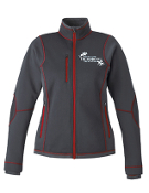 78681 Ladies Textured Bonded Fleece Jacket