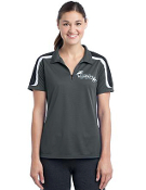 LST658 Ladies Tricolor Shoulder Micropique Sport-Wick Polo