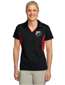 LST655 Ladies Side Blocked Micropique Sport-Wick Polo