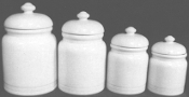 CH14 4 Piece Canister Set