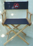 EM30 Embroidered Director Chair