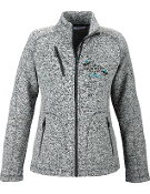 78669 Ladies Sweater Fleece Jacket