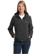 L706 Ladies Hooded Soft Shell Jacket