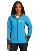 L319 Ladies Hooded Soft Shell Jacket