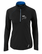 78187 Ladies Half-Zip Yoga Performance Long Sleeve Top