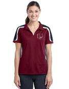 LST658 Ladies Tricolor Polo