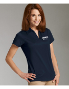L469 Ladies V-Neck Polo