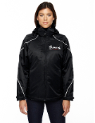 78196/88196 Ladies/Mens 3-in-1 Jacket with Bonded Fleece Liner