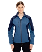 78077 Ladies Three-Layer Fleece Bonded Soft Shell Jacket