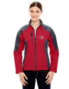 78077/88156 Ladies/Mens Color Block Soft Shell Jacket