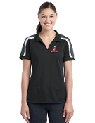 LST658/ST658 Ladies/Mens Tricolor Polo