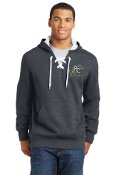 ST271 Lace Up Pullover Hooded Sweatshirt