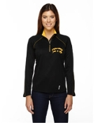 Half-Zip Performance Long Sleeve Top Ladies/Mens