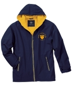 Nylon Jacket w/Sweashirt Fleece Lining Mens/Youth