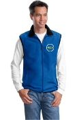 J355 Mens/Unisex Polar Fleece Vest
