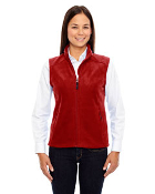 78191 Ladies Micro Fleece Vest