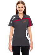 78645 Ladies Performance Polyester Color-Block Polo