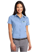 L508/S508 Ladies/Mens Short Sleeve Dress Shirt