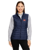 CE702W Ladies Puffy Vest