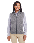 DG797W Melange Fleece Vest - ladies/mens