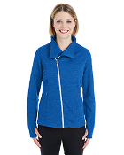 NE704W Melange Fleece Jacket - ladies/mens
