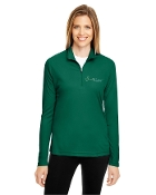 TT31W 1/4 Zip Yoga Shirt