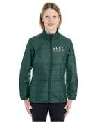 CE700W Ladies Puffy Jacket