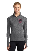 LST850 Ladies 1/4 Zip Yoga Shirt