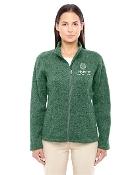 DG793W Ladies Sweater Fleece Jacket
