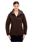 78080 Three Layer Insulated Soft Shell Jacket - Ladies