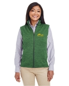 Melange Fleece Vest - Ladies/Mens