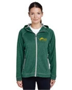 Melange Fleece Hoody - Ladies/Mens