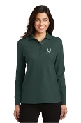 Long Sleeve Pique Polo - Ladies/Mens