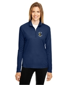 TT31W Ladies Performance 1/4 Zip Shirt