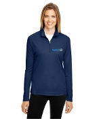TT31W Ladies 1/4 Zip Performance Shirt