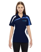 78645 Ladies Colorblock Polo