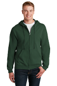 JZ993 Full ZIP Hooded Sweatshirt - Mens/Youth