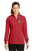 LST253  1/4 Zip Sweatshirt - Ladies//Mens